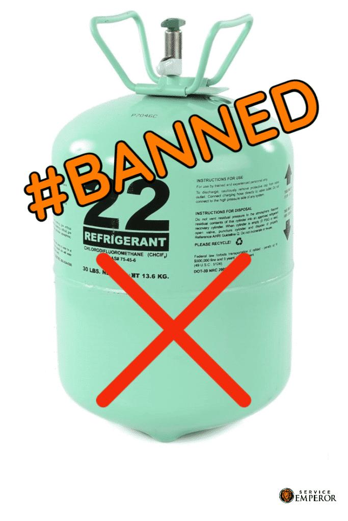 Banned Refrigerant 22 Freon-pinterest