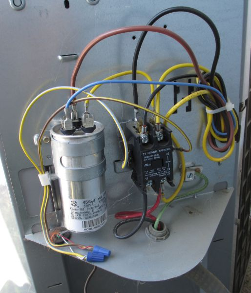 AC Capacitor fitted to AC