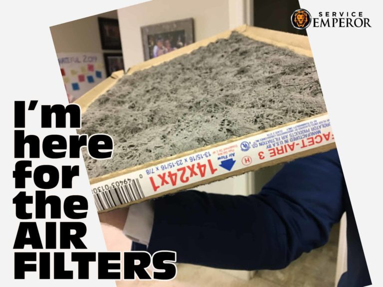 Im here for the air filters