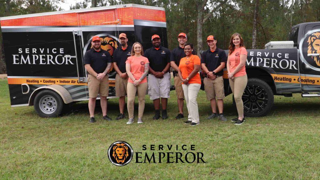 Service Emperor Team in Savannah