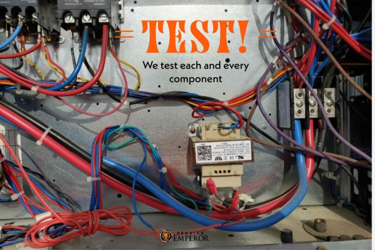 Test each AC Component