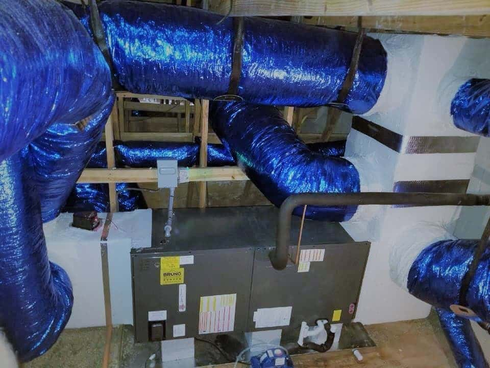 Treated Air Ducts
