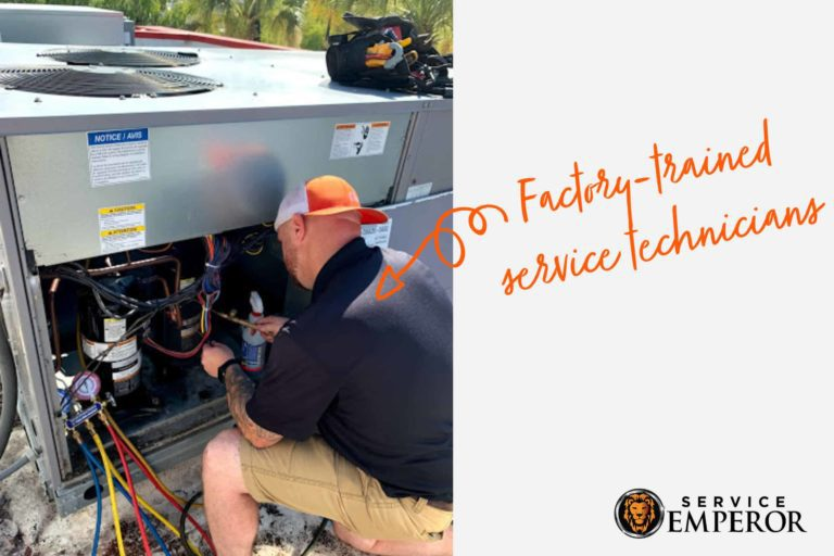 Factory Trained AC Technicians