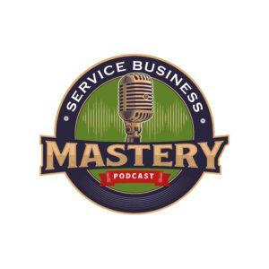 Podcasts Service Business Mastery Logo