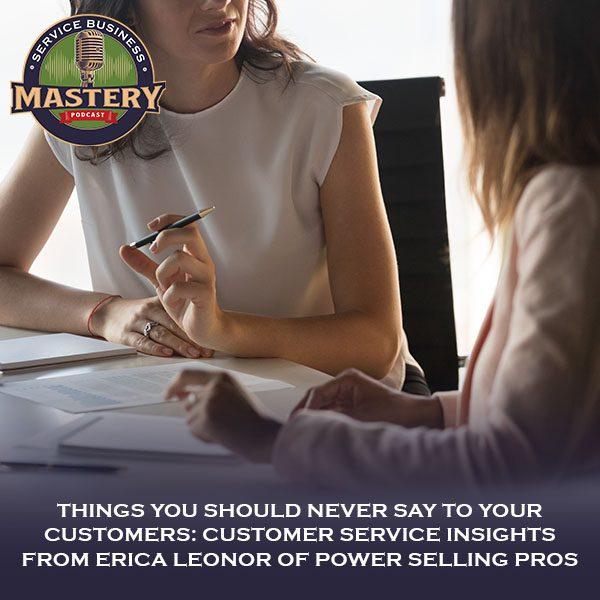 SBM 608   Customer Service