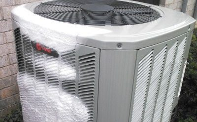 Frozen Heat Pump