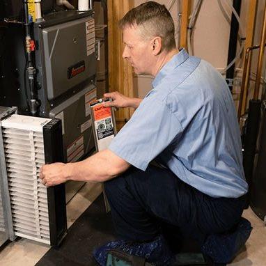 Service Emperor Tech replacing a furnace